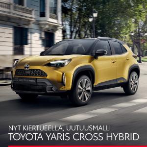 Yaris Cross -kiertue - O.K. Auto Oy