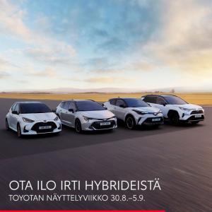 Tutustu laajaan hybridimallistoomme, ja ota selvää mistä Suomen suosituimmat hybridit on tehty. Näyttelyetuna rajattuun erään Co...