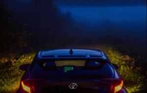 Asiakkaamme oli ottanut näin kauniin ja tunnelmallisen kuvan sumuisesta syysillasta ❤️ Kiitos kuvasta ja turvallisia kilometrejä...