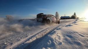 Rovaniemen MM-ralli ajetaan tämän viikon lopulla Rovaniemen lumisissa maisemissa. O.K. Auton väki toivottaa kuljettajakaksikolle...