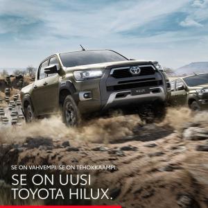 Uusi Toyota Hilux - O.K. Auto Oy