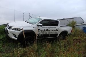 Truckmasters esittelypäivät Iisalmen O.K. Autossa tänään 17.9. klo 9–17 ja huomenna 18.9. klo 9–17. Paikalla myös Truckmasters-edustaja Teemu Harjula.Tervetuloa tutustumaan ja koeajamaan! #truckmasters #neliveto #okauto #offroad